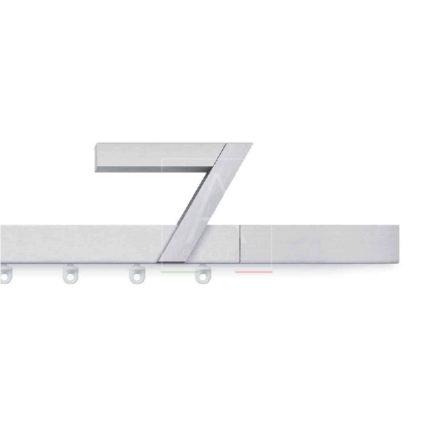 Fetra scorritenda scaglioni alluminio